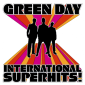 Album art International Superhits! by Green Day