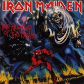 Album art The Number Of The Beast by Iron Maiden
